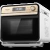松下NU-JT100W蒸烤箱家用烘焙多功能電烤箱二合一蒸烤一體機