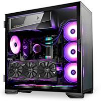 安鈦克(Antec) 冰鉆P120 電腦機箱水冷 中塔鋼化玻璃 支持E-ATX主板/下置顯卡/雙360冷排 電競游戲機箱