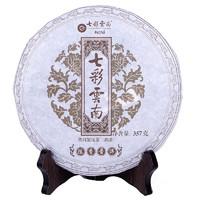 七彩云南 慶灃祥 普洱茶熟茶 陳香普洱 七子餅茶 357g*5件