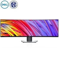 戴爾(DELL) U4919DW 49英寸曲面旋轉升降10.7 億色彩99% sRGB LED背光液晶顯示器