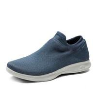 Skechers斯凱奇女輕質網面一腳套健步鞋 舒適懶人襪套運動鞋
