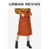 UR2019新品青春女裝通勤車線飾A型半裙YL08S5AN2005