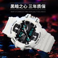 青少年學生時尚多功能電子手表機械表