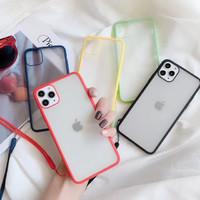 GGUU iphone11promax手機殼蘋果11透明磨砂iphone超薄防摔11pro全包軟殼
