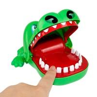 港比熊咬手指鱷魚玩具 兒童早教整蠱創意  發泄解壓