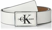 Calvin Klein Jeans 38mm Plaque Logo 男士皮帶
