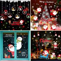 圣誕節裝飾品墻貼紙櫥窗玻璃貼紙
