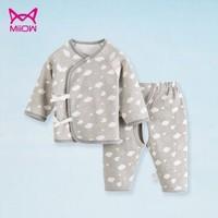Miiow  貓人嬰兒衣服衣褲兩件套 *3件