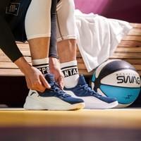 安踏男款籃球鞋2019秋季新款透氣網面球鞋運動男鞋