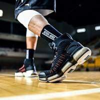 安踏男鞋實戰高幫籃球鞋SEEED御空NASA聯名紀念款運動鞋