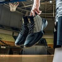 安踏男鞋籃球鞋秋季新款要瘋2代正代a-shock外場高幫戰靴