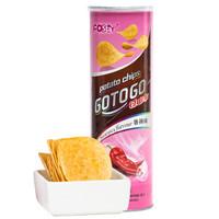 馬來西亞進口 過山車(GOTOGO)香辣味薯片(膨化食品)110g *2件