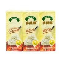 多美鮮(SUKI)稀奶油 200ml*6盒 德國進口 家庭烘焙原料 *4件