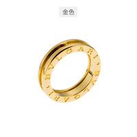 BVLGARI 寶格麗 B.zero1系列18K黃金男女同款單環戒指