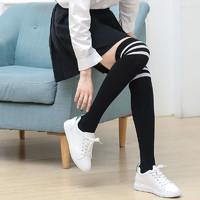 浪莎過膝襪子女韓版長筒襪潮 可愛日系中筒及膝小腿襪高筒大腿襪