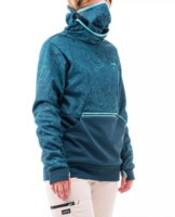 DECATHLON 迪卡儂 SNB HDY graph turquoise 女式滑雪運動衫