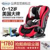 graco 葛萊 兒童汽車安全座椅嬰兒寶寶車載坐椅正反雙向安裝可坐臥躺0-4-12歲基石 紅色