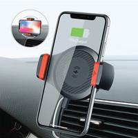 斐佧思 Ficarsi 車載無線充電支架Mini折疊車用手機夾子儀表臺粘貼式充電器快充