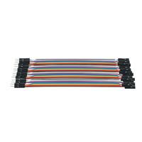 純銅 12芯 杜邦線 40P彩色排線連接線20cm
