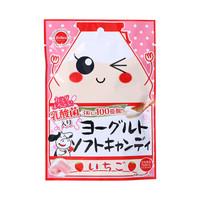 日本進口 茱力菓 草莓味酸奶軟糖 38g *13件