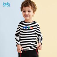 maxwin 男小童嬰童針織長袖T恤