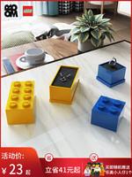 ROOM樂高迷你收納盒lego 首飾展示盒零件歸類戒指盒塑料玩具收納 *5件
