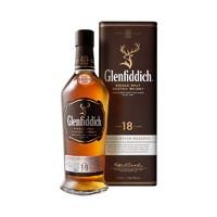 Glenfiddich 格蘭菲迪 18年單一純麥威士忌 700毫升/瓶