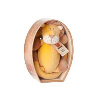 miYim 有機棉瑜伽娃娃玩偶 新生嬰兒玩具陪睡安撫玩偶寶寶