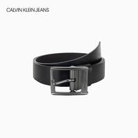 CK JEANS 2019春夏新款 男士Logo簡約時尚皮帶腰帶 HC0510U4900
