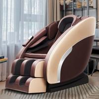 本末(BENMO)按摩椅智能家用全身多功能太空艙零重力辦公室電動按摩椅子 M1 香檳金