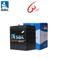 風帆(sail) 蓄電池6-QW-36 本田飛度鋒范思域汽車電瓶折舊價配送上門