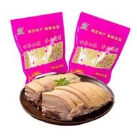 龍福興 南京桂花風味鹽水鴨 熟食正宗南京特產小吃鹵味零食鴨肉 1kg
