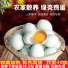 綠殼土雞蛋新鮮直發農家果林散養柴雞蛋笨雞蛋草雞蛋40枚生雞蛋