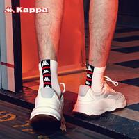 Kappa 卡帕 KP8W23 串標情侶中筒襪 2雙