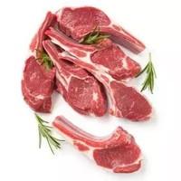 草原牧羊人 內蒙羊肉原切單骨法式羊排4支(200g)羊肉生鮮排骨 燒烤食 *3件