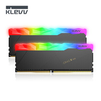 科賦(KLEVV) DDR4 3466 16G(8Gx2)套裝臺式機超頻內存條RGB燈條 CRAS X