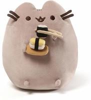 GUND Pusheen壽司款小懶貓毛絨玩具-高9.5英寸