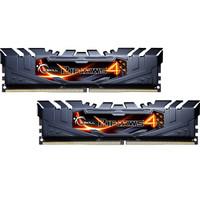 芝奇(G.SKILL)Ripjaws 4 DDR4 3600 頻率 8G×2 臺式機內存 (F4-3600C19D-16GRKB) 黑色