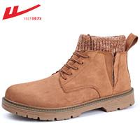 WARRIOR 回力 HL3177WBN 男士工裝靴