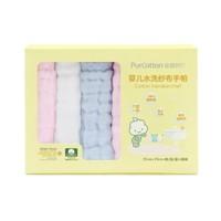 PurCotton 全棉時代 嬰兒水洗紗布手帕 25*25cm 6條裝 *2件