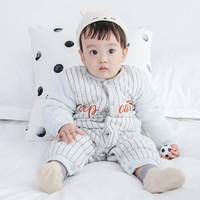 嬰兒連體衣秋冬純棉衣服