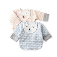 哈哈龜 寶寶保暖半背衣