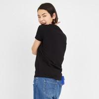 14號10點:LEEX-LINE  L370144LEK11 女款 圓領logo短袖T恤