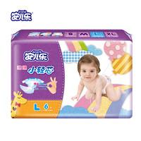 安兒樂(Anerle)薄薄小輕芯嬰兒紙尿褲大碼L6片尿不濕