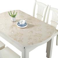 歐倫皇室 加厚水晶板透明桌墊pvc軟玻璃餐桌墊