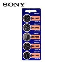 SONY 索尼 CR2032 纽扣电池 5粒装