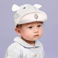 0-1歲女寶寶帽子男童薄款嬰兒春秋冬季幼兒棒球帽潮3-6-12個月