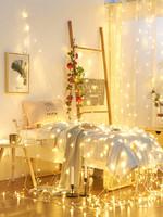 星星燈飾裝飾小件網紅房間布置 出租屋宿舍led彩燈閃燈串燈滿天星