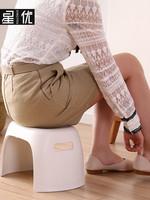 成人兒童小矮凳加厚凳子家用防滑座椅寶寶椅子換鞋凳墊腳凳塑料凳
