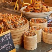 吃货福利 : 三种口味大闸蟹+法国生蚝畅吃!苏州园区香格里拉大酒店自助晚餐